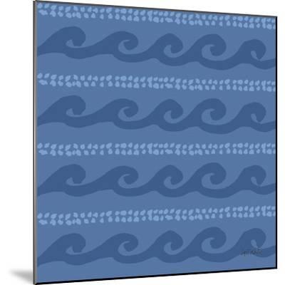 Deep Sea Step 02D-Anne Tavoletti-Mounted Art Print