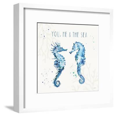 Deep Sea III-Anne Tavoletti-Framed Art Print