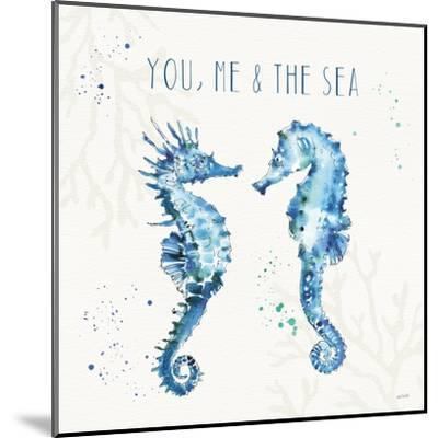 Deep Sea III-Anne Tavoletti-Mounted Art Print