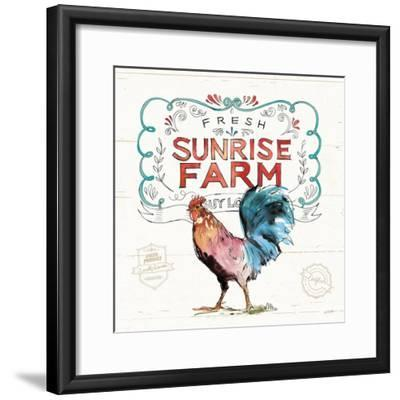 Down on the Farm VI-Anne Tavoletti-Framed Premium Giclee Print