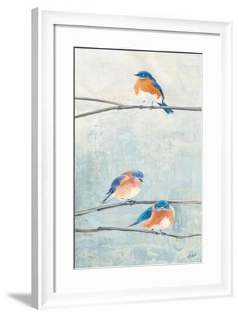 Hanging Out II-Julia Purinton-Framed Art Print