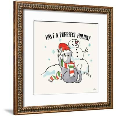 Santa Paws III-Janelle Penner-Framed Art Print