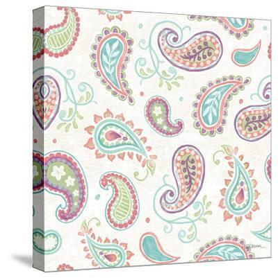 Bohemian Cactus Step 04A-Mary Urban-Stretched Canvas Print