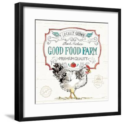 Down on the Farm V-Anne Tavoletti-Framed Art Print