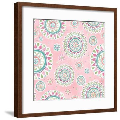 Bohemian Cactus Step 03B-Mary Urban-Framed Art Print