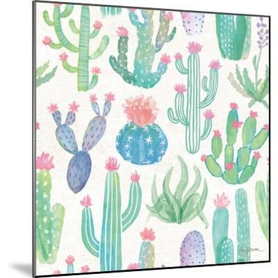 Bohemian Cactus Step 01A-Mary Urban-Mounted Art Print
