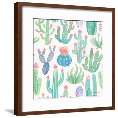 Bohemian Cactus Step 01A-Mary Urban-Framed Art Print