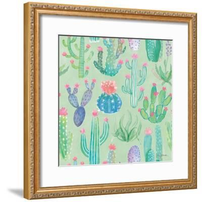 Bohemian Cactus Step 01C-Mary Urban-Framed Art Print