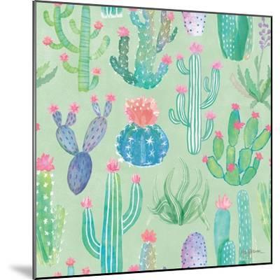 Bohemian Cactus Step 01C-Mary Urban-Mounted Art Print
