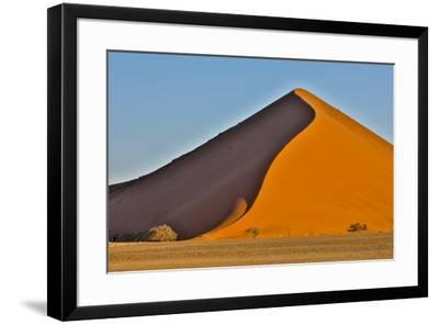 Africa, Namibia, Sossusvlei Dune in the Afternoon Light-Hollice Looney-Framed Photographic Print