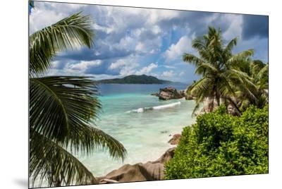 Anse Severe beach, La Digue, Republic of Seychelles, Indian Ocean.-Michael DeFreitas-Mounted Photographic Print
