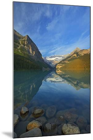 Canada, Alberta, Banff National Park. Lake Louise and Canadian Rocky Mountains.-Jaynes Gallery-Mounted Photographic Print