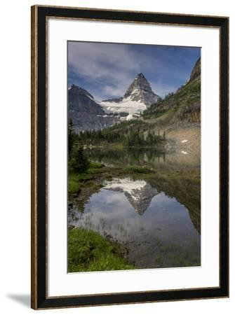 Mount Assiniboine reflection, Canada-Howie Garber-Framed Photographic Print