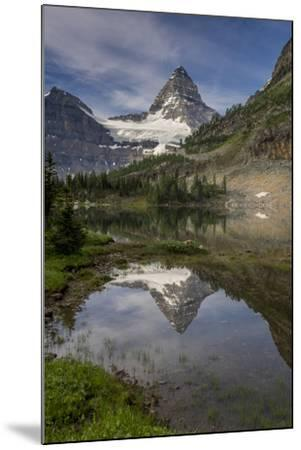 Mount Assiniboine reflection, Canada-Howie Garber-Mounted Photographic Print
