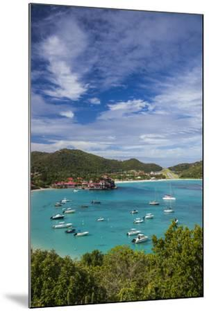 French West Indies, St-Barthelemy. Baie de Saint Jean-Walter Bibikow-Mounted Photographic Print