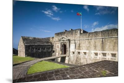 St. Kitts and Nevis, St. Kitts. Brimstone Hill Fortress-Walter Bibikow-Mounted Photographic Print
