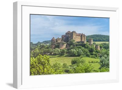 Berze Castle, Burgundy, France-Jim Engelbrecht-Framed Photographic Print