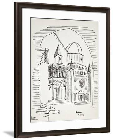Bergamo, in Northern Italy, has a beautifully preserved Medieval city.-Richard Lawrence-Framed Photographic Print