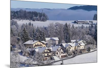 Austria, Salzburgerland, Hof bei Salzburg, winter landscape-Walter Bibikow-Mounted Photographic Print