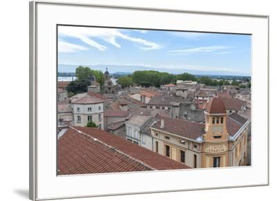 Rooftop view, Tournon, France-Lisa S^ Engelbrecht-Framed Photographic Print