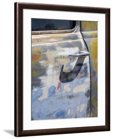 Arizona, Oatman, Route 66, old truck detail-Jamie & Judy Wild-Framed Photographic Print