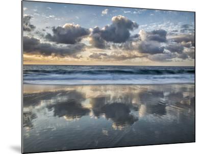 USA, California, La Jolla. Cloud reflections at Marine Street Beach-Ann Collins-Mounted Photographic Print