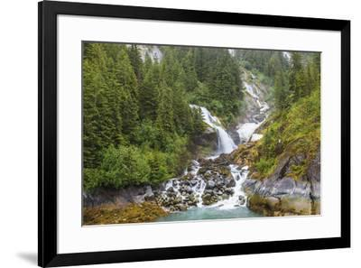 Le Conte Glacier area, Southernmost Tidewater glacier in United States, near Petersburg, Alaska, In-Stuart Westmorland-Framed Photographic Print