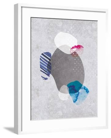 Tidal Impressions No. 2-Louis Duncan-He-Framed Art Print