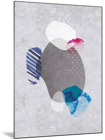 Tidal Impressions No. 2-Louis Duncan-He-Mounted Art Print