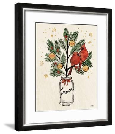Christmas Lovebirds XIII-Janelle Penner-Framed Art Print