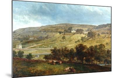 Ewood Hall From Greenfields, 1869-John Holland-Mounted Giclee Print