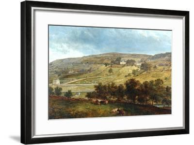 Ewood Hall From Greenfields, 1869-John Holland-Framed Giclee Print
