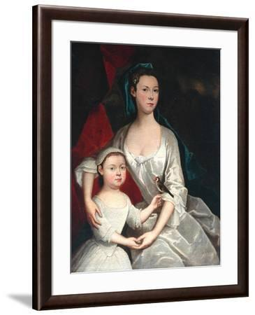 Mother and Child--Framed Giclee Print