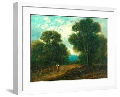 Landscape near Norwich-John Constable-Framed Giclee Print