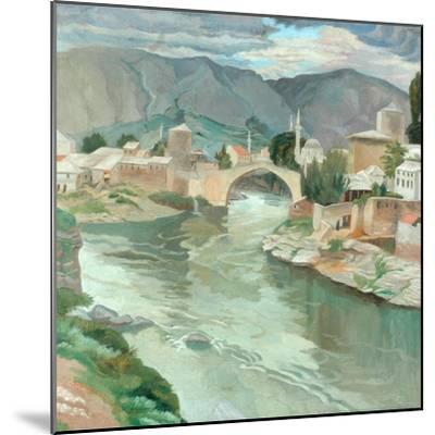 Mostar, Herzegovina, 1922-Sydney Carline-Mounted Giclee Print