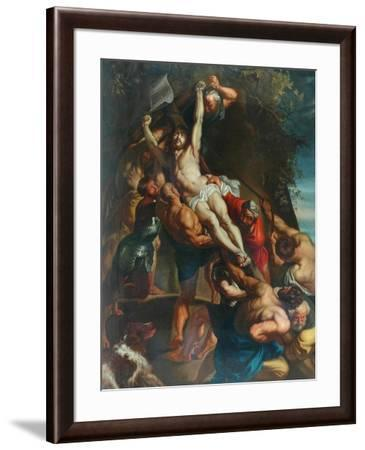 Elevation Of The Cross--Framed Giclee Print