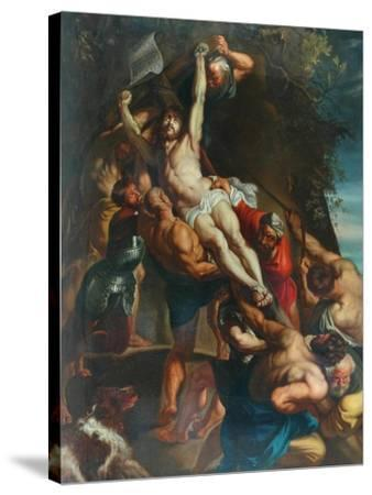 Elevation Of The Cross--Stretched Canvas Print