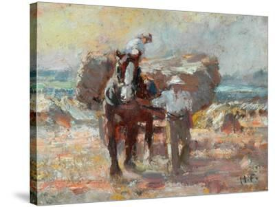 The Harvester-Harry Fidler-Stretched Canvas Print