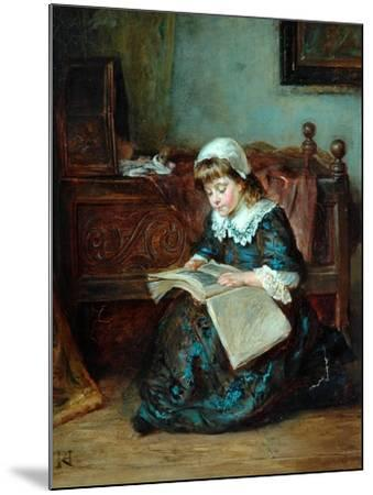 The Story Book, 1864-93-Robert Alexander Hillingford-Mounted Giclee Print