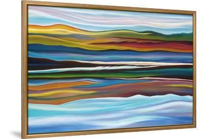 Serenity (Cropped)-Hyunah Kim-Framed Stretched Canvas Print