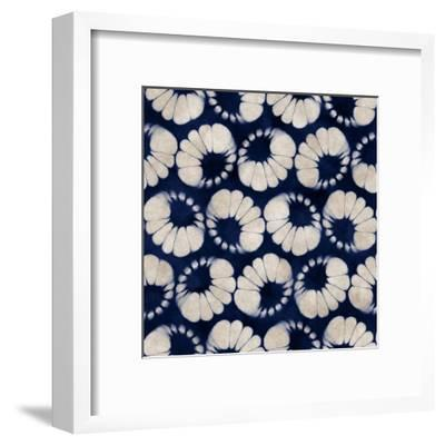 Abstract Watercolor-Dyed Floral Motif. Seamless Pattern.- cepera-Framed Art Print