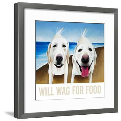Will Wag For Food-Mark Ulriksen-Framed Art Print