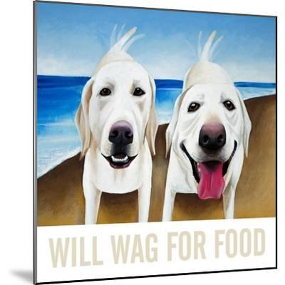 Will Wag For Food-Mark Ulriksen-Mounted Art Print