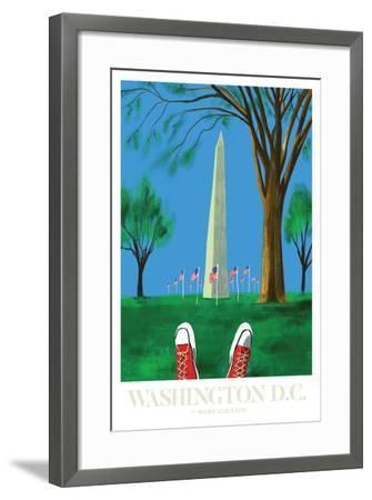 Washington DC-Mark Ulriksen-Framed Art Print