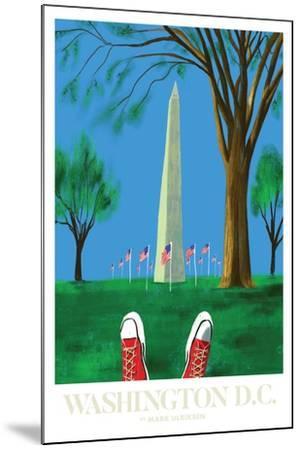 Washington DC-Mark Ulriksen-Mounted Art Print