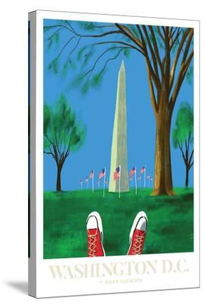Washington DC-Mark Ulriksen-Stretched Canvas Print