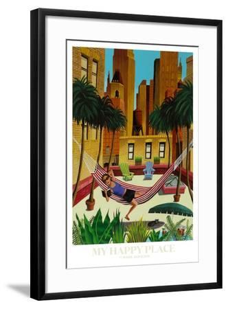 My Happy Place-Mark Ulriksen-Framed Art Print