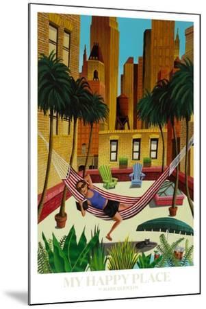 My Happy Place-Mark Ulriksen-Mounted Art Print