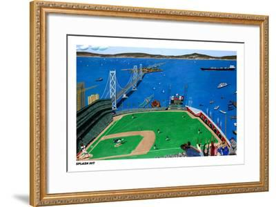 San Francisco - Splash Hit-Mark Ulriksen-Framed Art Print
