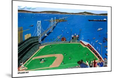 San Francisco - Splash Hit-Mark Ulriksen-Mounted Art Print